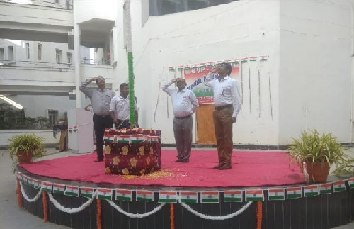 Republic Day Celebration 26-JAN-2019 @SITAM-GVP