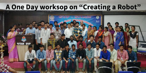 workshop on creating a robot